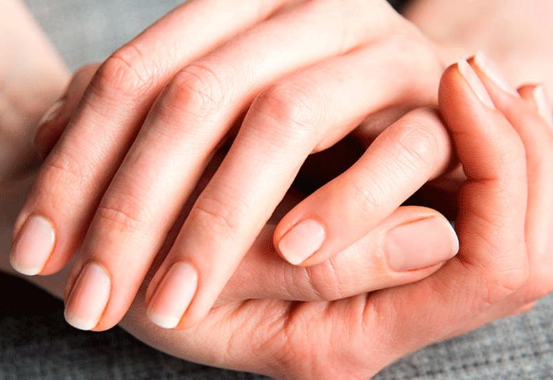 naturalny manicure japoński